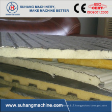 Discontinuous PU (Polyurethane) Sandwich Panel Machine