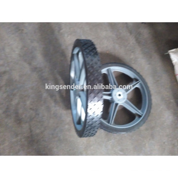 roue en plastique 14 x 4