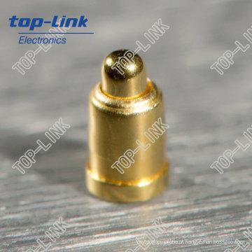 Custom SMT Pogo Pin com pino único, mola carregada