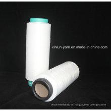 Blanco 100d / 96f SIM Poliéster DTY Hilo de filamento