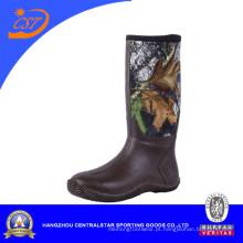 Botas de borracha confortável de Mens Camo (NE-27)