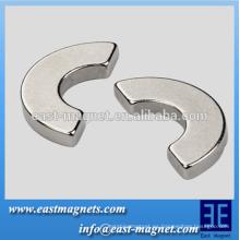Imanes de neodimio compuestos de medio anillo de alta calidad