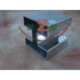 Stainless Steel Square Slot Tube