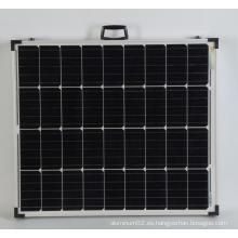 Módulo plegable de lodo fotovoltaico 100w.