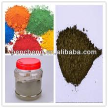 Polvo de pigmento de óxido de hierro libre y polvo de pigmento de tatuaje