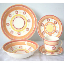 Eco-Friendly Colored Ceramic Dinnerware (Set)