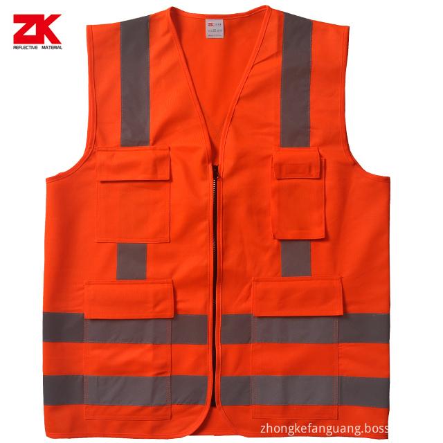 Safety Vests Front