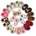 Baby Mädchen Mode Bowknot & Quasten Weiche Sohle Loafer Infant