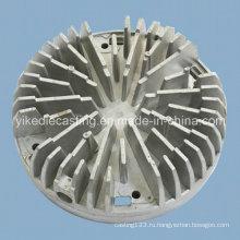 Части светильника заливки формы алюминиевая для теплоотвода