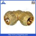 Elbow de bronze / T / acoplamento / montagem de tubo de compressão (YD-6046)