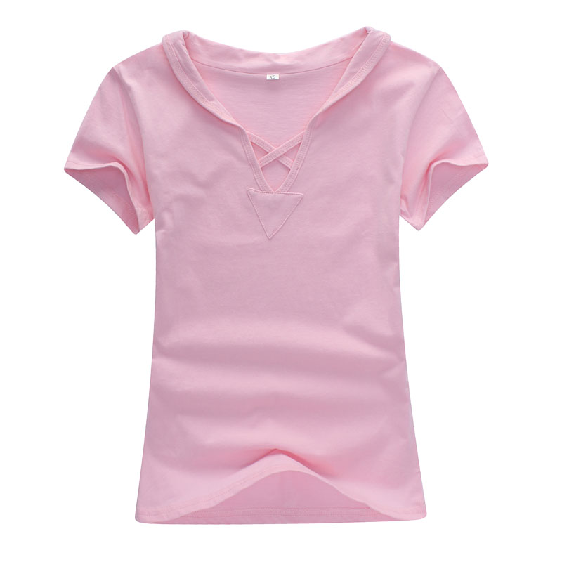 pink t shirt for ladies