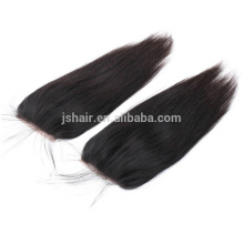4X4 Straight Free Parting Brazilian Virgin Hair Lace Top Closure 100% Human Hair Closure Brazilian Lace Closures in stock