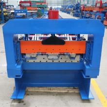 Perfil de cubierta de piso de metal rollo que forma la máquina