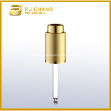 Cosmetic Aluminium Dropper for Bottle