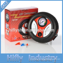 Bomba de aire del coche del compresor de aire del coche del inflador del neumático de HF-001G DC 12V (certificado del CE)