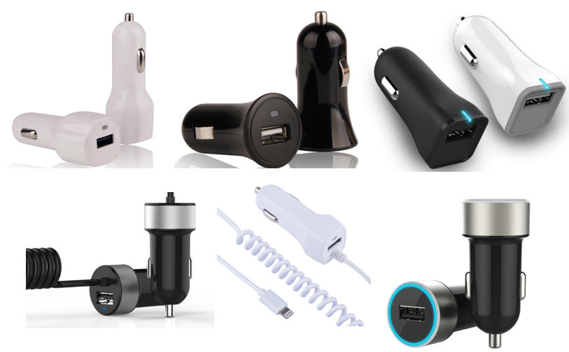 1 USB port car charger