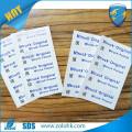 Alibaba China supply paper sticker roll destructive label a4 sticker custom printing