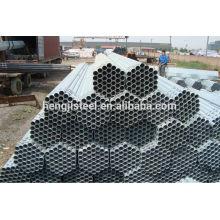 Pre Galvanized Steel round Pipe size