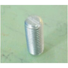 Screw with Brass Base, Silver Plating, Tuning and Cylindrical Sides