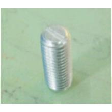 Винт с латунной основой, серебристое покрытие, настройка и цилиндрические поверхности