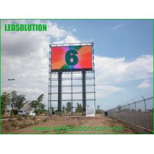 Exhibición al aire libre de la publicidad de la INMERSIÓN LED del color IP65 del tubo lleno de 10m m