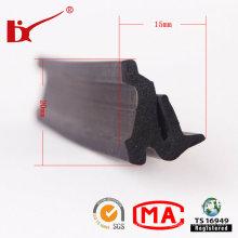 Flexible elastische geschäumte Gummidichtungsstreifen
