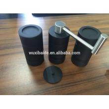 Высококачественная черная ручная кофемолка алюминиевая кофеварка оптом керамическая чаша для кофеварки