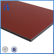 Panel de fachada exterior de 4mm / 0.4mm PVDF Caoting