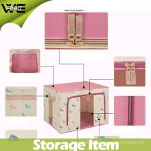Boîte pliable de stockage de vêtements de tissu d'organisateur de sous-vêtements pliables