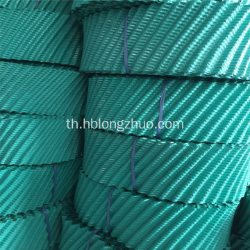 PVC Cooling Tower เติมสำหรับ Round Cooling Tower