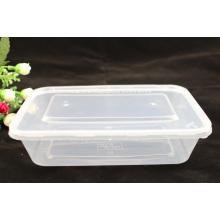 Recipiente descartável de alimentos para microondas PP Caixa de plástico