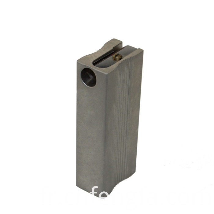 Custom zinc alloy square pencil sharpener