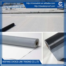 for pool homogeneous PVC waterproof membrane