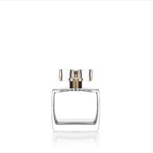Frasco de vidro popular unisex europeu 50ml do perfume do projeto