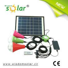 Iluminación hogar Smart solar led colgante con 3 luces LED, luces solares (JR-SL988A)