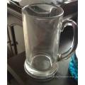 Verre à verre clair Tasse à bière Vasque à boissons