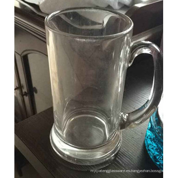 Taza de cristal clara Taza de cerveza Taza de consumición