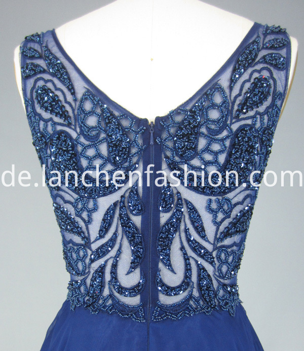 Bridesmaid Dress Navy Lace
