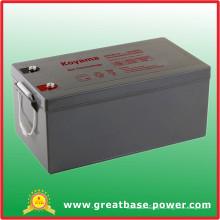 Gel Batería de almacenamiento Batería híbrida 250ah 12V