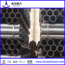 Tubo de acero soldado negro Q235