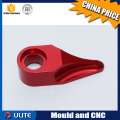 Direct factory anodized aluminum cnc milled electrical rail clamp