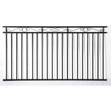 Residencial Usado Aluminum Black Fence Section