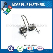 Made IN TAIWAN high qualiy stainless steel spring Double Torsion Spring