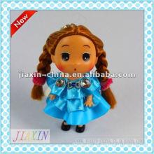 2013 new style plastic mini doll,vinyl small doll