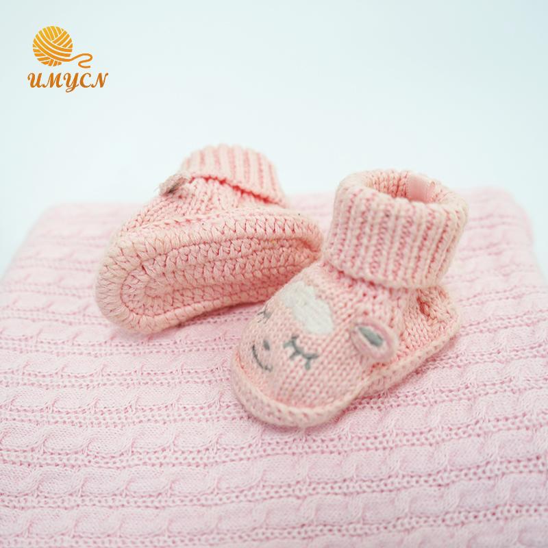 Crochet Baby Girls Shoes