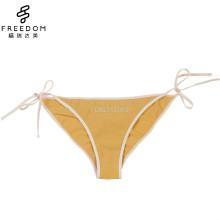 China Großhandel und maßgeschneiderte Bow-Knoten Baumwolle Riemen Bow-Knoten Strap Panty für Mädchen