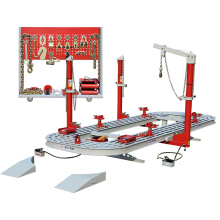 TFAUTENF 5.6 meters car chassis repair equipment with auto repair tools