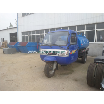 3 wheels sewer cleaning truck for sale