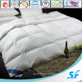 Plain Cotton Allemagne Piping White Goose Down Quilt