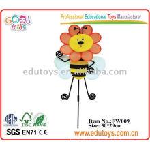 Molino de viento de la abeja del girasol para el juguete de la fuente de la escuela
